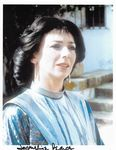 Jacqueline Pearce DOCTOR WHO  -  10 x 8 genuine signed autograph COA 11296